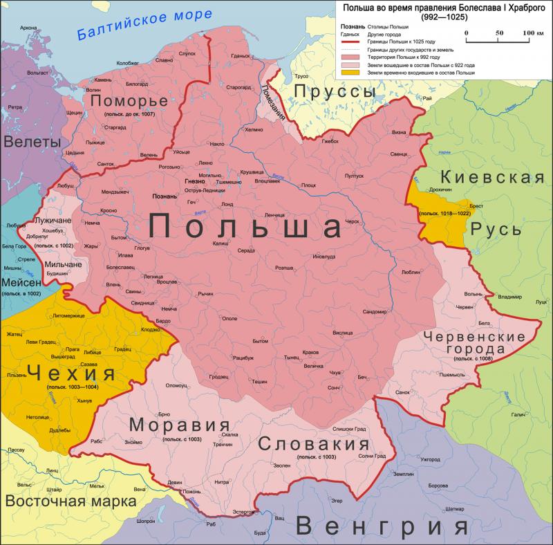 Как Ярослав Мудрый помог восстановить Польшу
