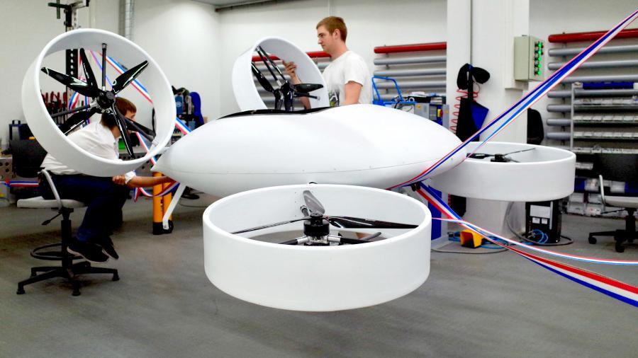 Займем этот дрон: в России создают аэротакси