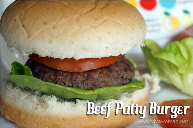 Beef Patty Burger Lunchbox Idea Beauty Lunchbox Ideas: 5 Easy Sandwich Recipes