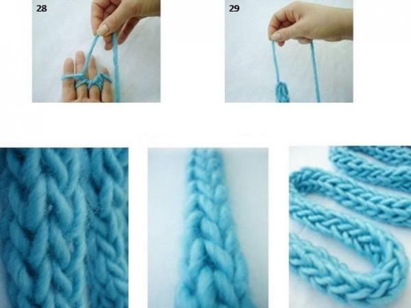 Плетения на пальцах