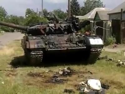 Донецкие ополченцы захватили 221 танк и 288 БТРов