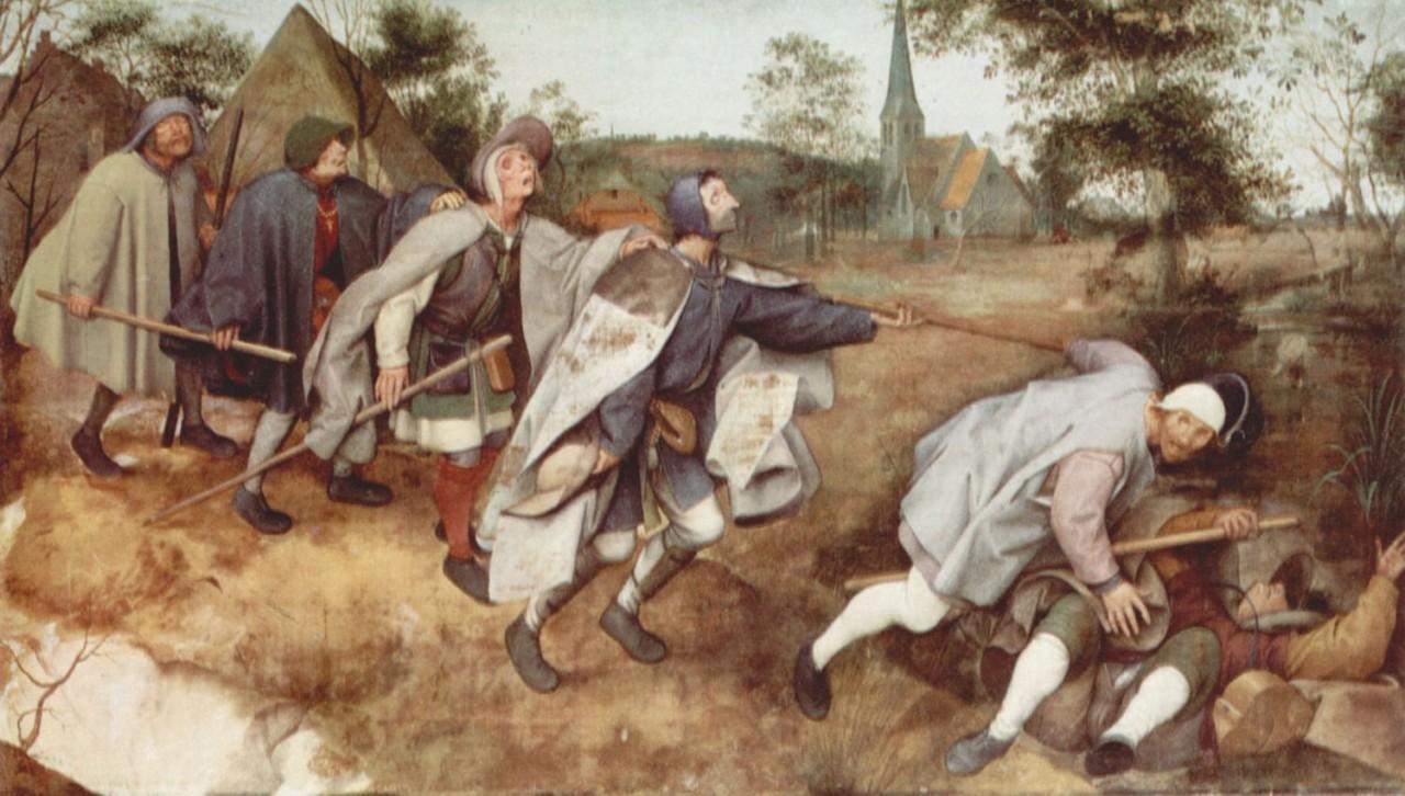 Бродяги и нищие в Средние века