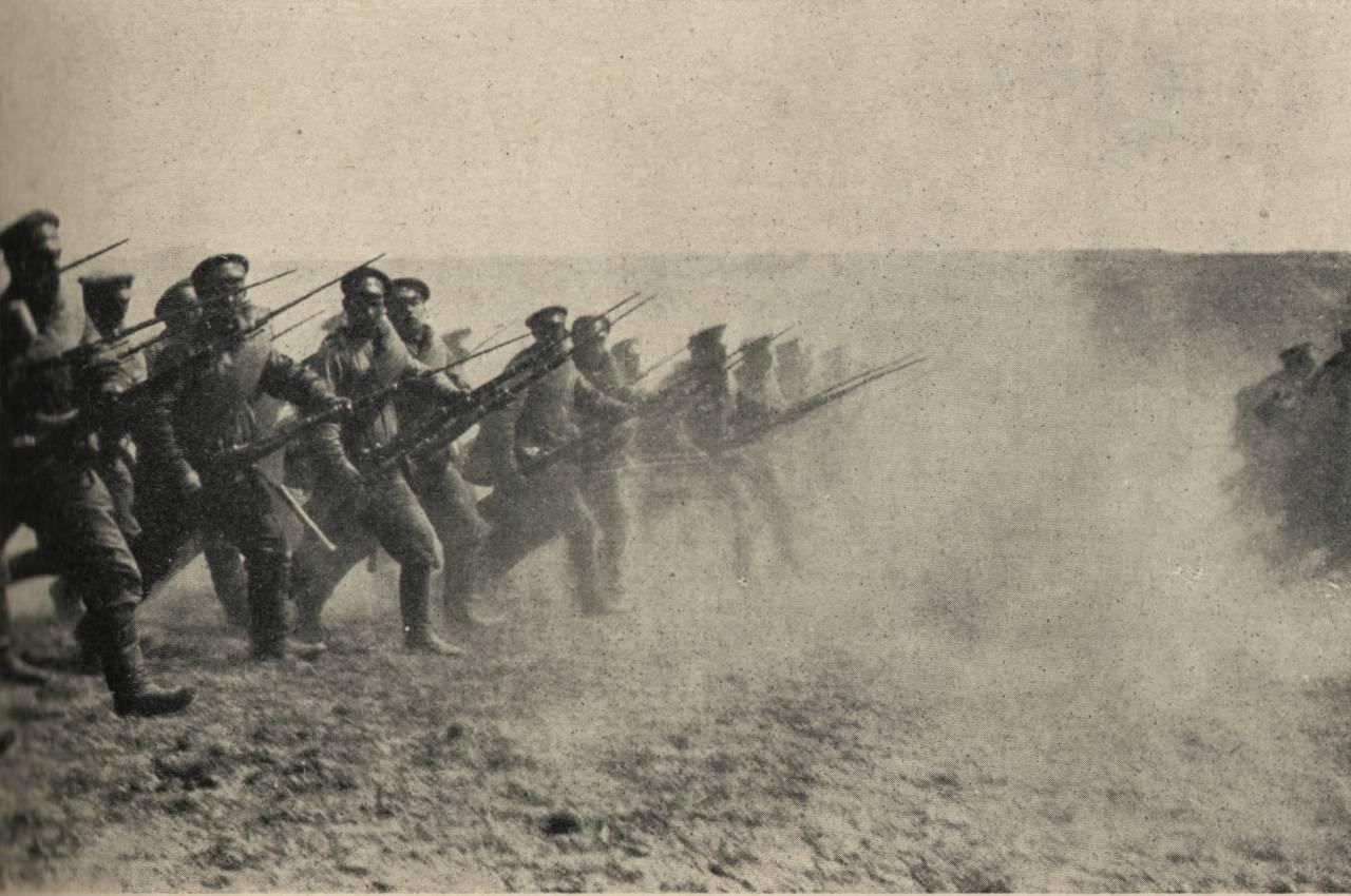 Генеральская штыковая атака