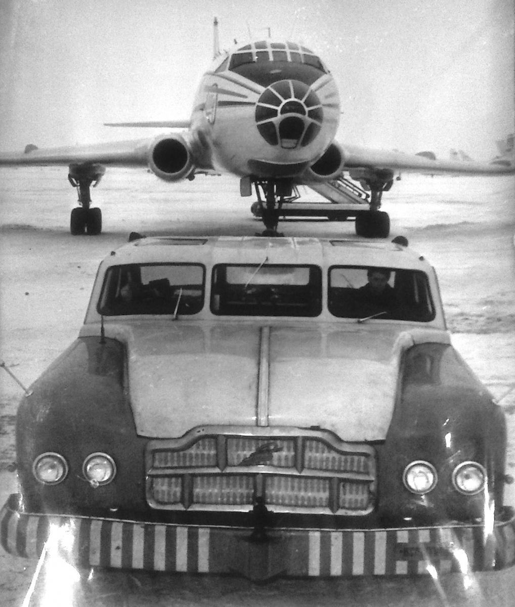 МАЗ-541: гигантский седан из СССР