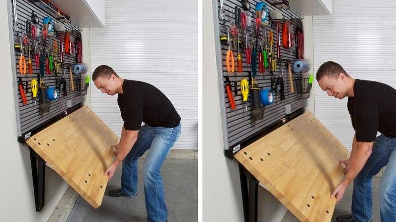 как быстро навести порядок в гараже