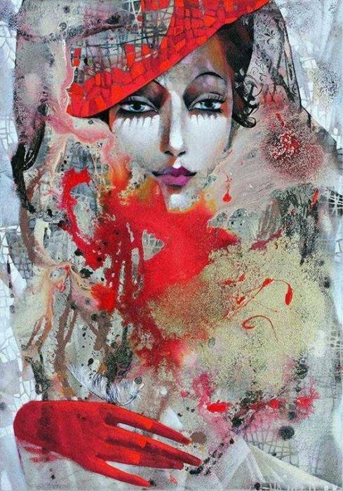Ira Tsantekidou by Catherine La Rose  (1) (489x700, 328Kb)