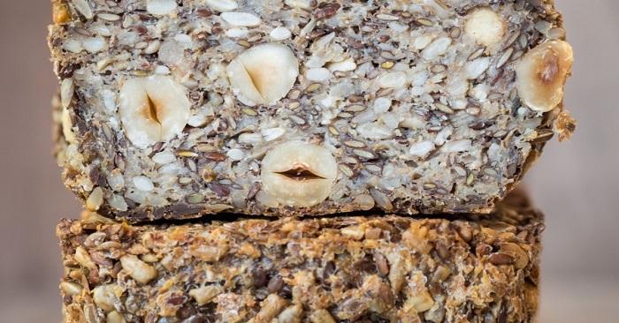 Хлеб без муки и дрожжей