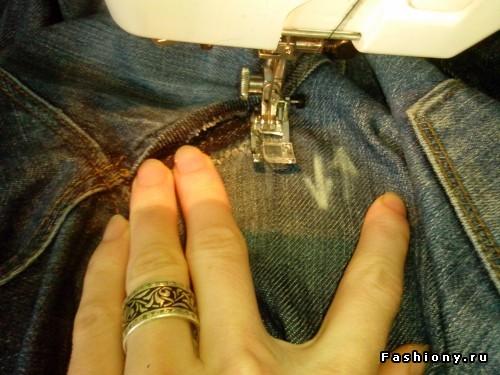 И джинсы как новые!