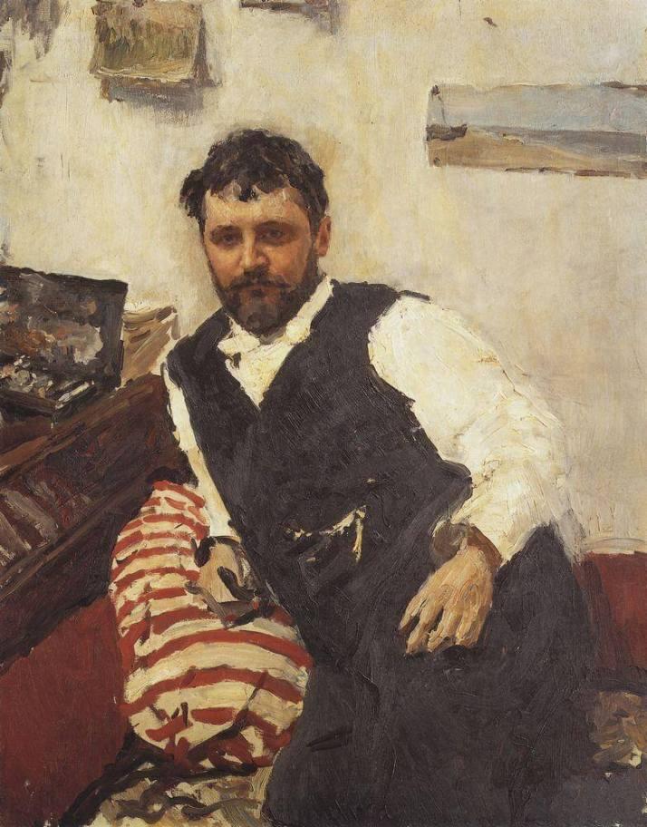Серов портрет Коровина