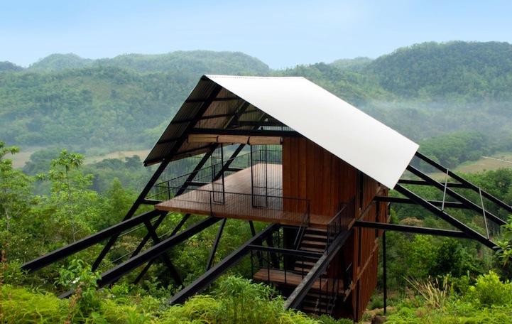 Бунгало в джунглях Шри-Ланки