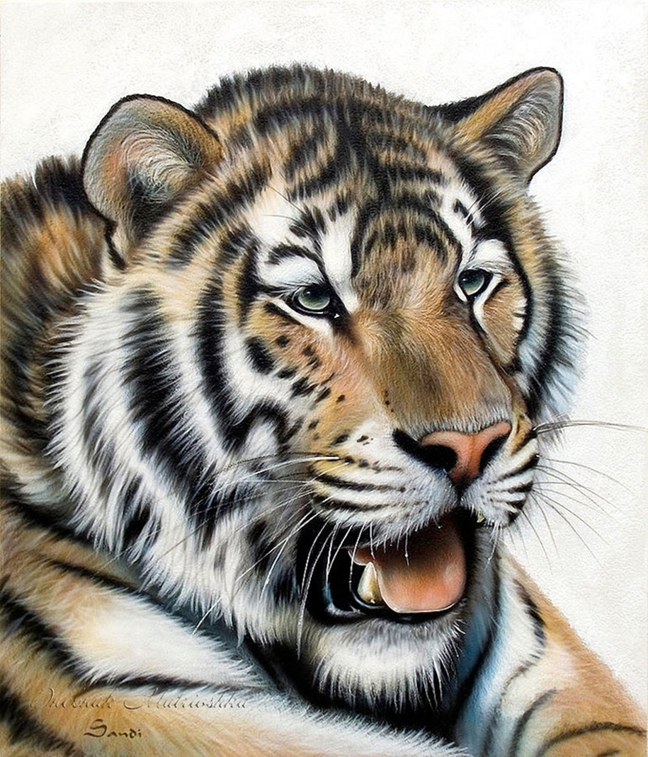 Awesome realistic drawings of animals 26