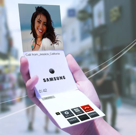 Смартфоны будущего по версии Samsung (видео)