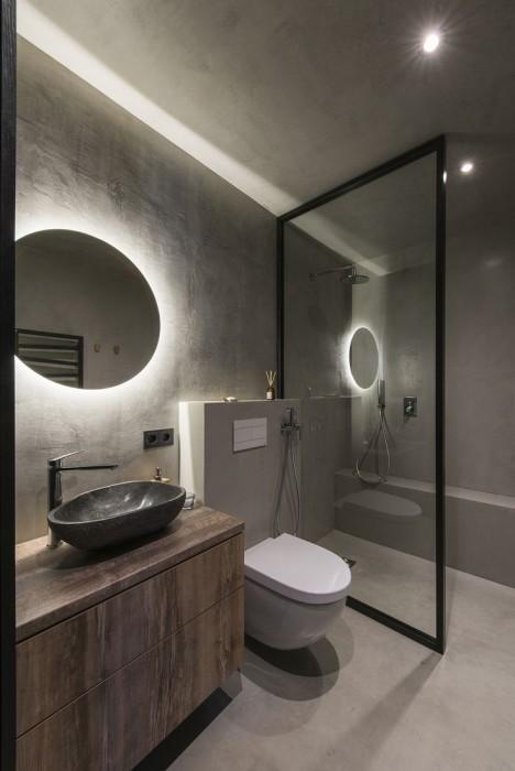 Продумывая свет, учитывайте цвета, материалы отделки, различные элементы дизайна – их можно подать наиболее выигрышно.