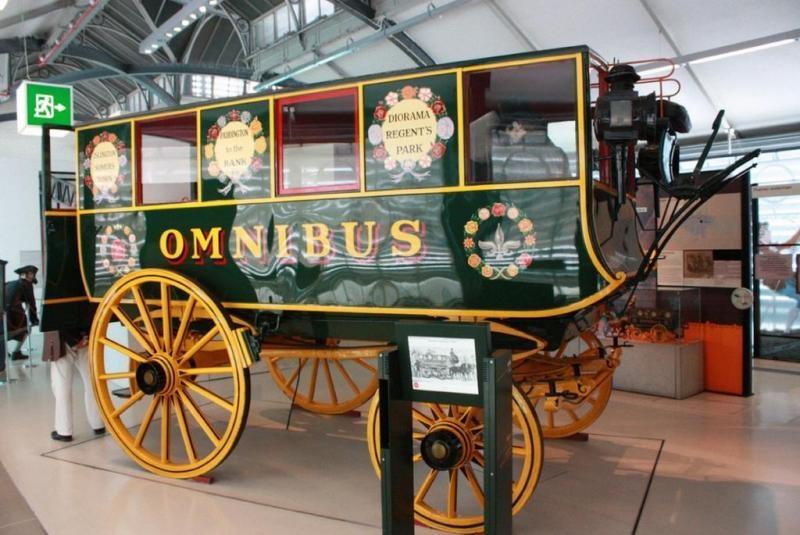 Увлекательный музей транспорта в Лондоне