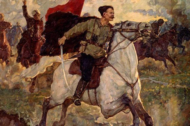 В день рождения героя Гражданской войны Василия Чапаева