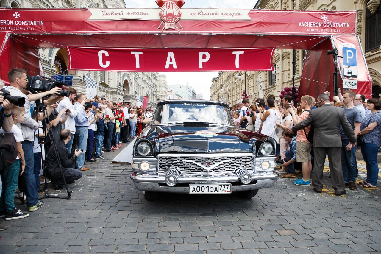 На гонку советских раритетов в Москве выйдут 133 автомобиля