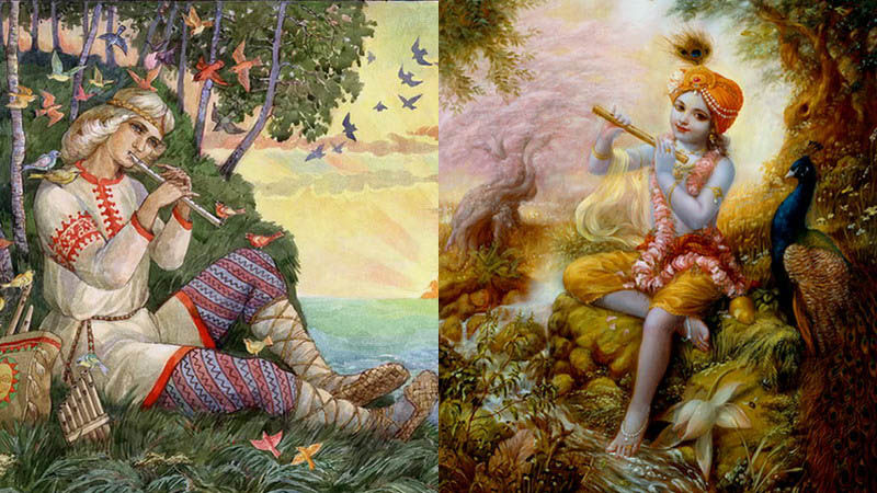 Невероятная схожесть русских и индийских орнаментов и мотивов