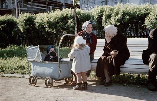 Малоизвестные цветные фото повседневной жизни в СССР 1950-х