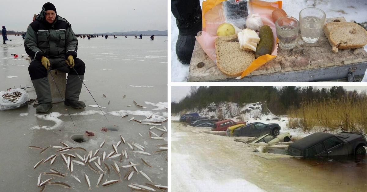 Романтика зимней рыбалки, за…