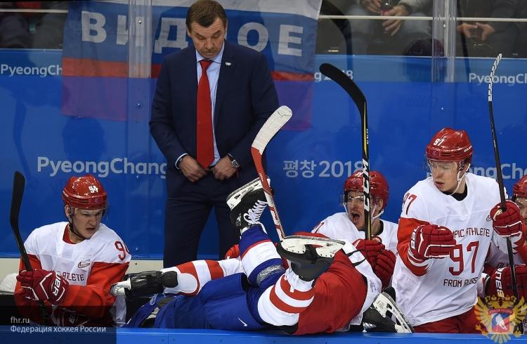 Сборная России уверенно разгромила американцев на Олимпиаде в Пхенчхане