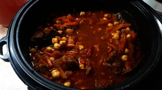Фото к рецепту: Чили кон карне с мясом для любимого мужчины!