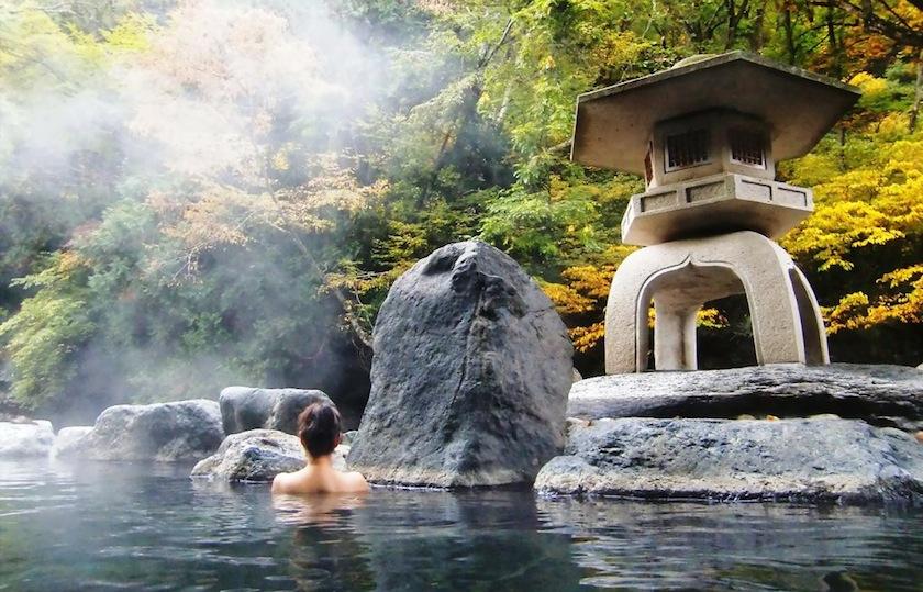 Онсэн на природе, Япония