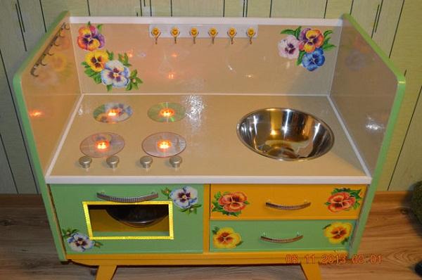 САМОДЕЛКИ. Детская кухня