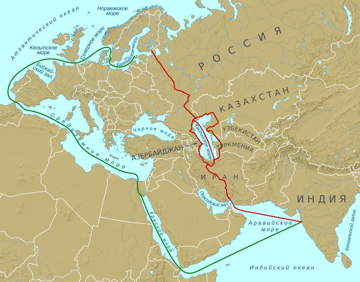 Будущее мировой торговли: Россия, Индия и Иран обсудят проект коридора «Север-Юг» в ноябре