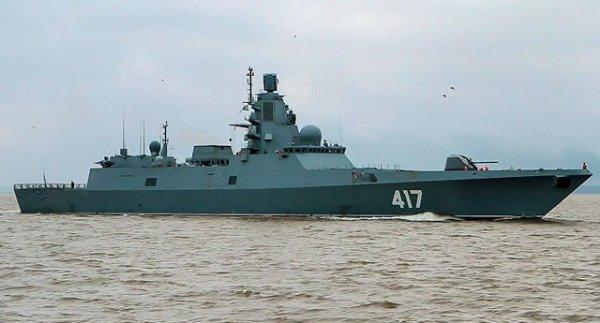 Новейший российский «стелс»-фрегат отправится на ходовые испытания в 2018 году
