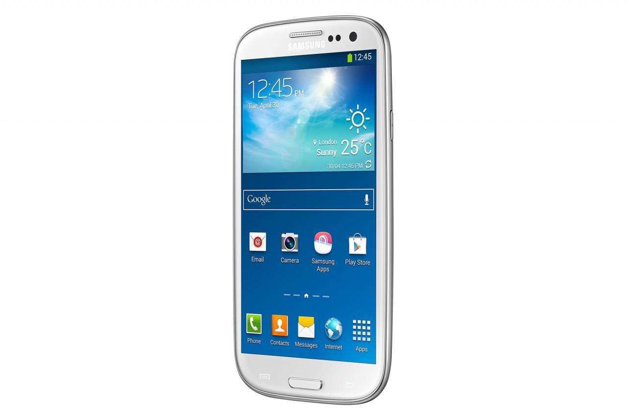 Белый Samsung Galaxy S III Dual Sim