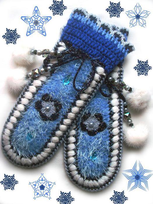 Варежки для Снегурочки
