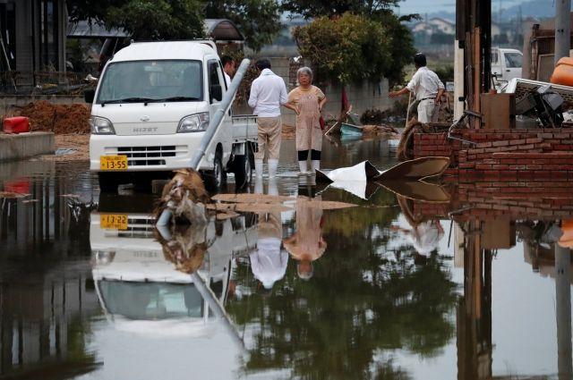 Число погибших во время наводнений в Японии выросло до 209 человек