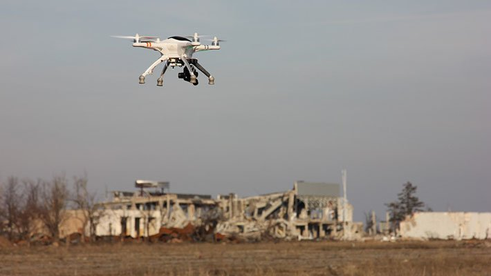 Над базой Хмеймим в Сирии был уничтожен беспилотник террористов