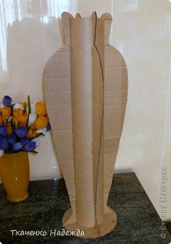 Напольная ваза мастер класс