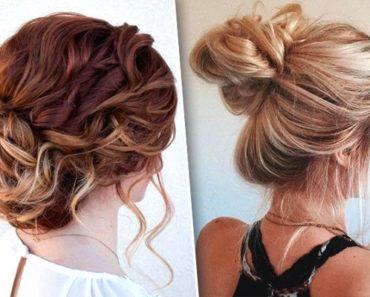 Когда хочется убрать волосы, но выглядеть шикарно — 10  эффектных пучков