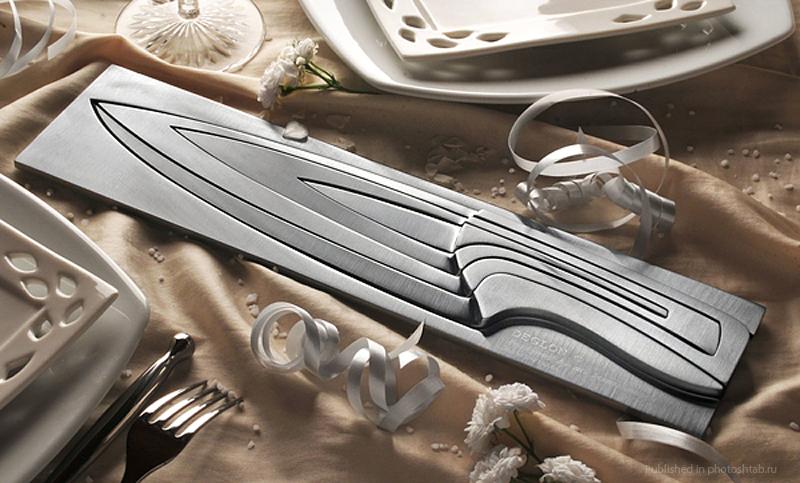 Дизайнерский кухонный нож 4 в 1