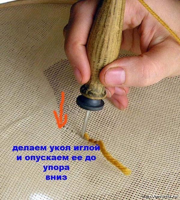 Ковровой вышивки своими руками