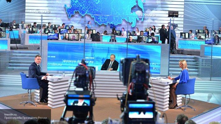 Стала известна дата прямой телевизионной линии с президентом России