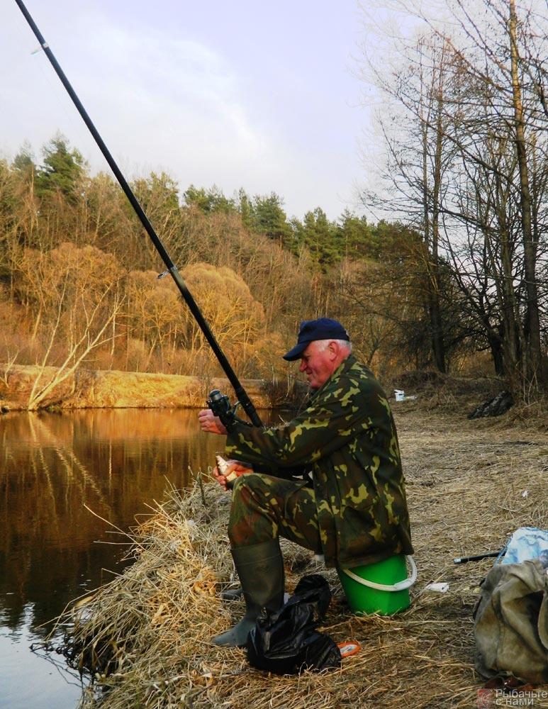 давление при ловле рыбы