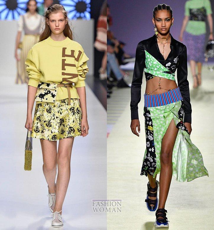 Модные юбки весна-лето 2019 фото №43