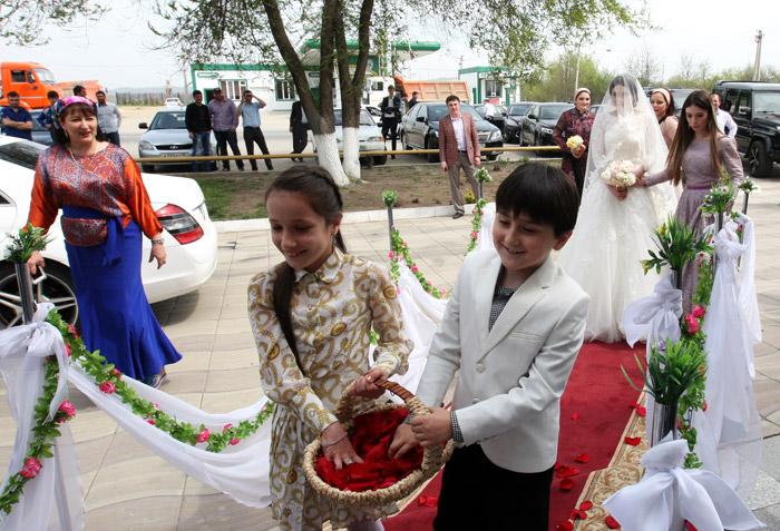 Чеченская традиционная свадьба