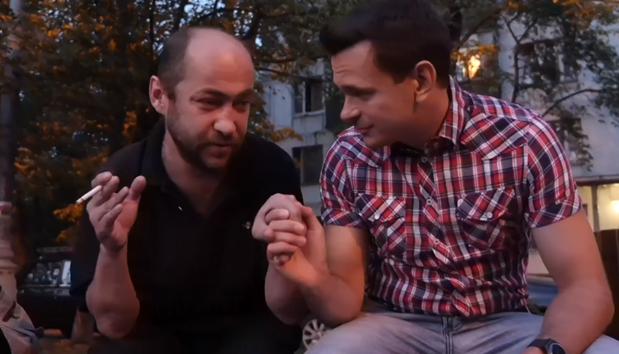 «Народный депутат» Яшин изнасиловал мозг дворовому алкашу Коляну