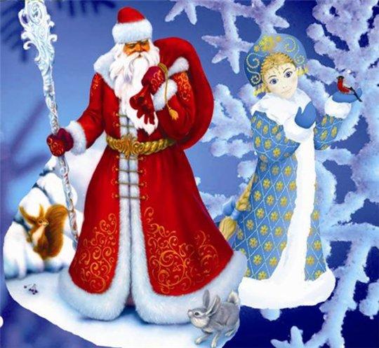 Как злой Мороз из мифов новогодним Дедом стал и со Снегурочкой познакомился