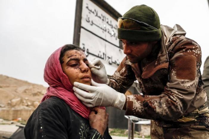 В Ираке уничтожен ответственный за химатаку в Мосуле