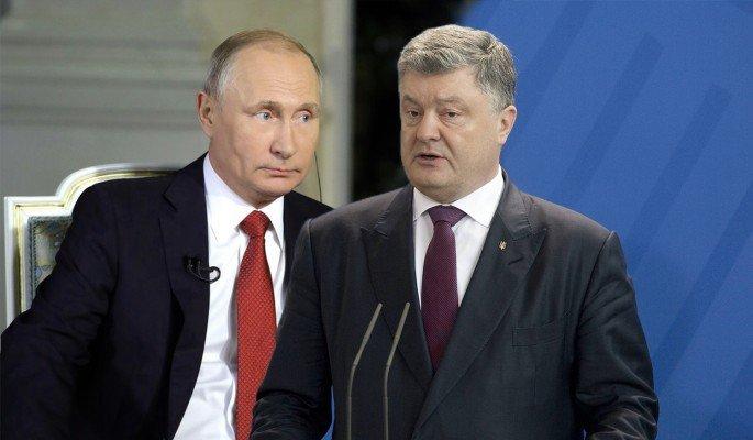 Порошенко в ужасе притих после слов Путина