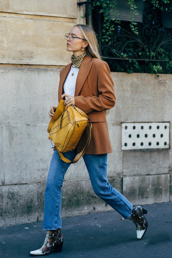 Street style: как носить пиджак в повседневной жизни