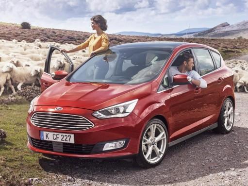 Обновленные Ford C-Max и Grand C-Max стали почти новыми