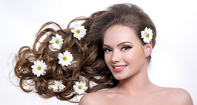Окраска волос натуральными с…