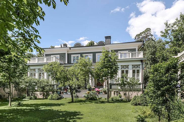 Дом в Подмосковье с прекрасными французскими интерьерами