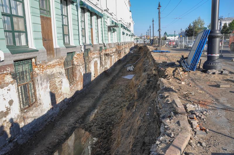 Античная империя: Откопали Музей Врубеля. Новые доказательства потопа.